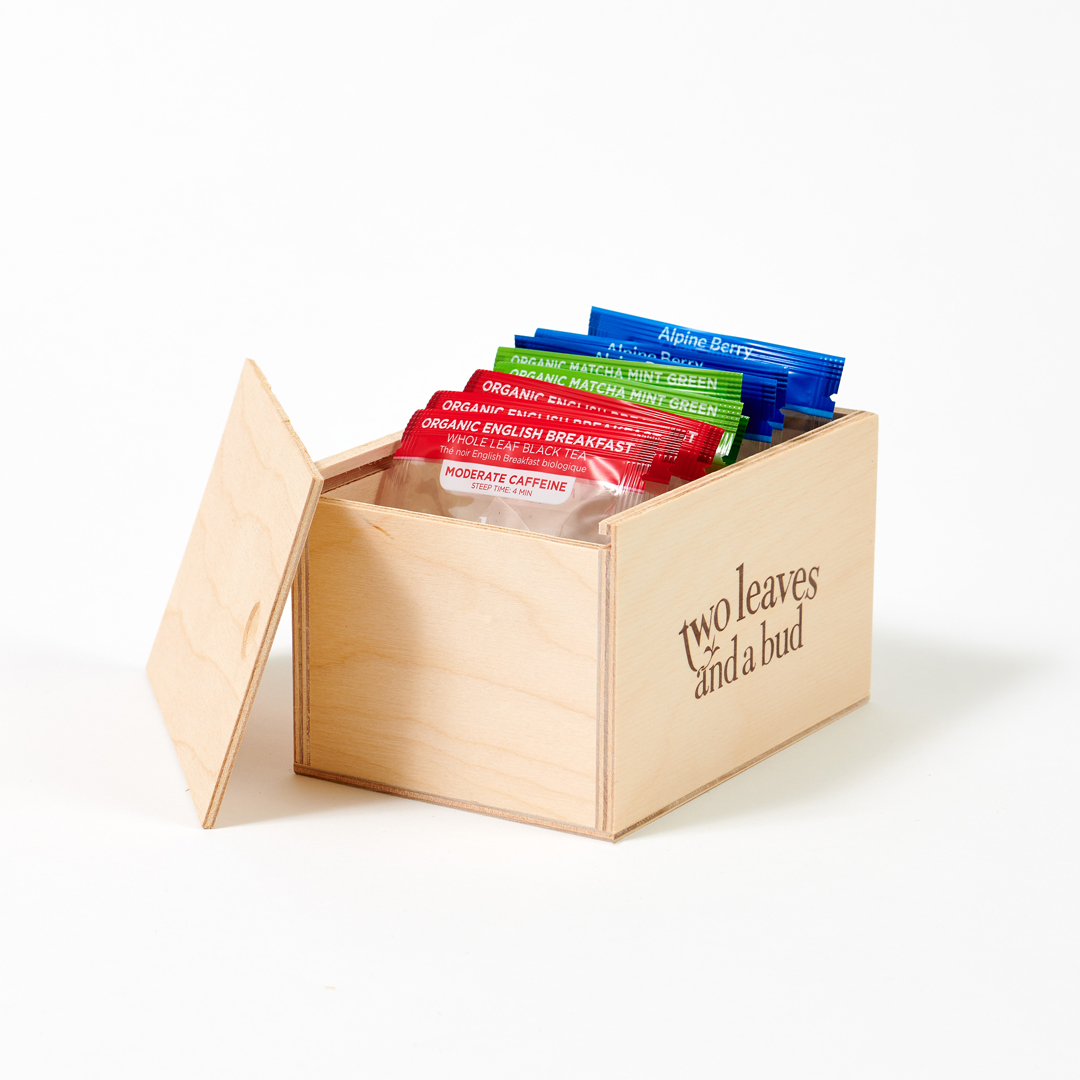 Wooden Gift Box opened